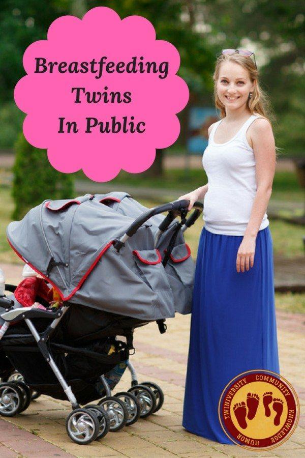 BreastfeedingTwinsIn Public
