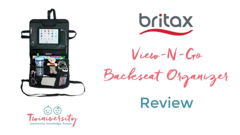 britax view-n-go backseat organizer