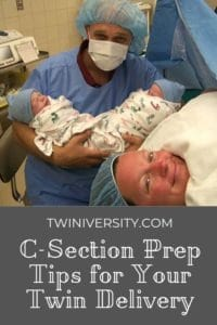 C-Section Prep Tips for Your Twin Delivery