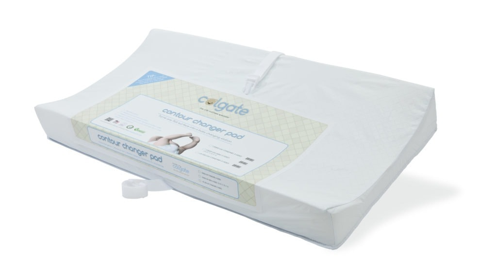 colgate contour changing pad newborn stage with twins