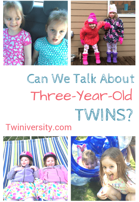 Can We Talk About Three-Year-Old Twins?