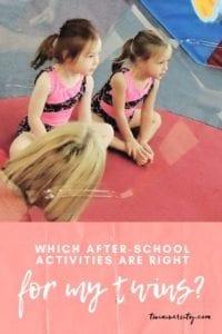 how to choose after-school activities
