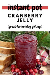 instant pot cranberry jelly