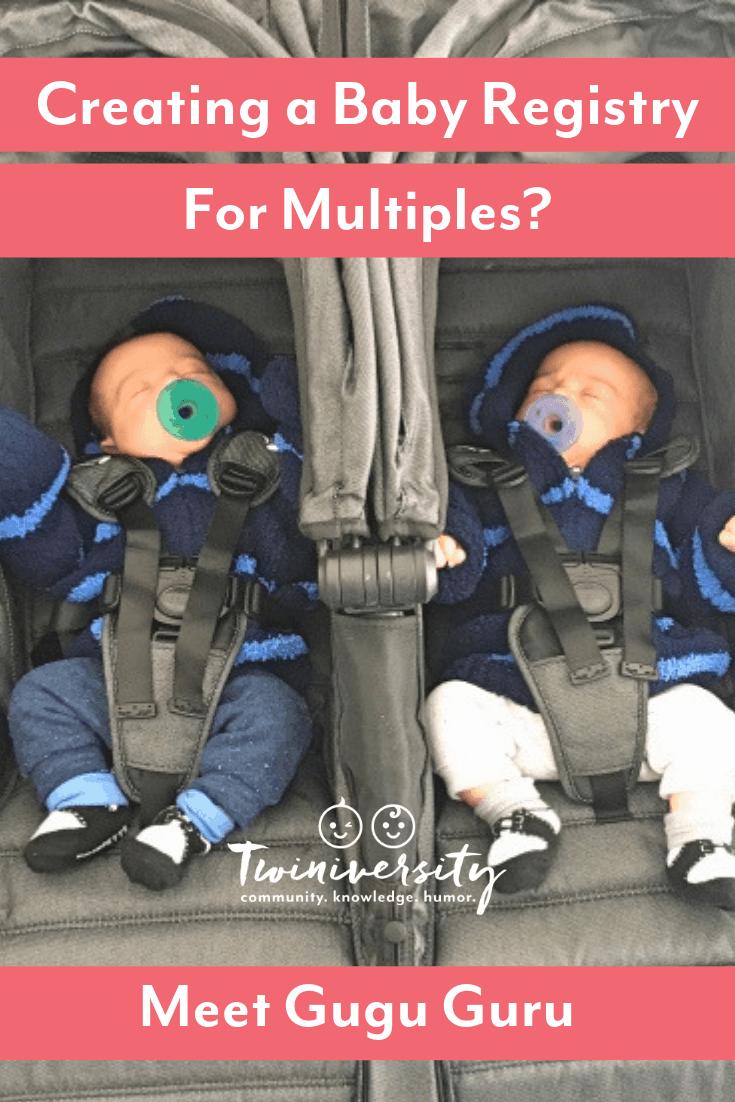 Creating a Baby Registry for Multiples? Meet Gugu Guru