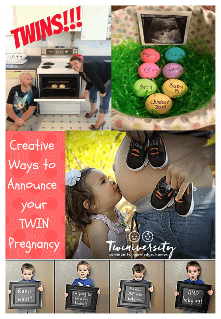 Creative Ways to Announce Your Twin Pregnancy