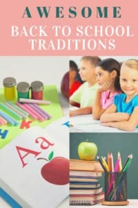 Amazing Traditions For the First Day of School