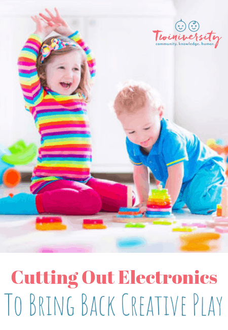 Cutting Out Electronics to Bring Back Creative Play