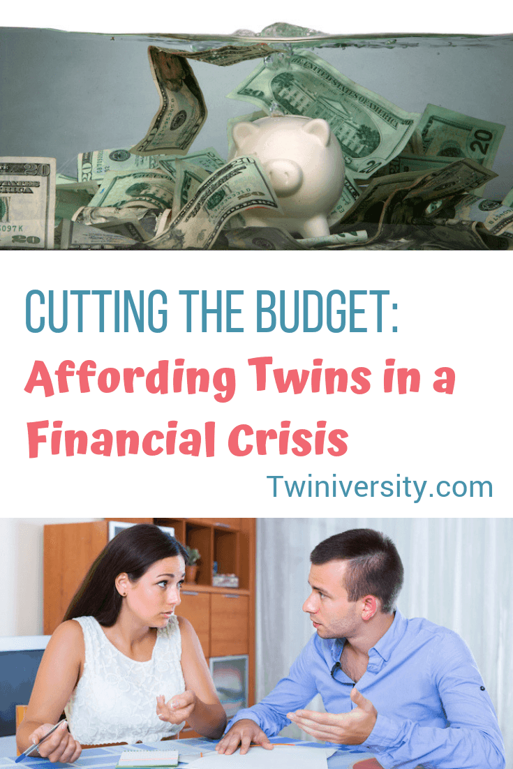 Cutting the Budget: Affording Twins in a Financial Crisis