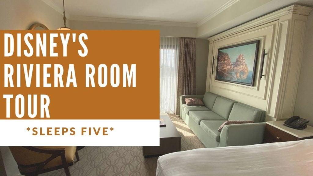Disney's Riviera Resort Room Tour