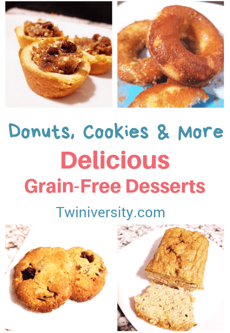 Donuts, Cookies & More: Delicious Grain-Free Desserts