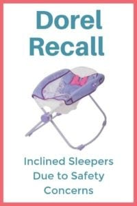 Dorel Recall Inclined Sleepers Due to Safety Concerns