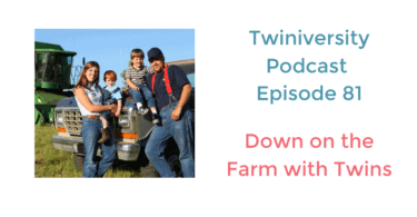 down on the farm with twins