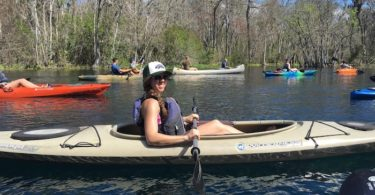 woman in kayak twins your excuse