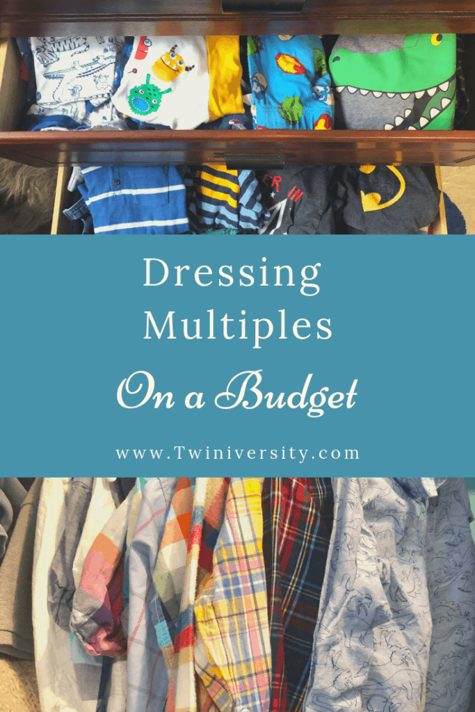 dressing multiples on a budget