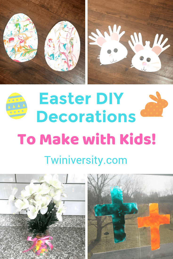 Easter DIY Decorations to Make with Kids