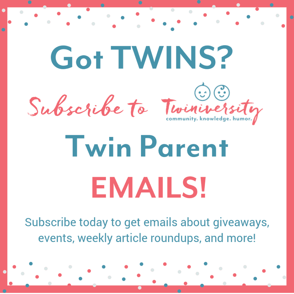 Twiniversity email subscription signup