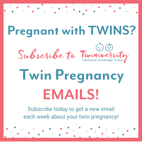 twin pregnancy week by week emails