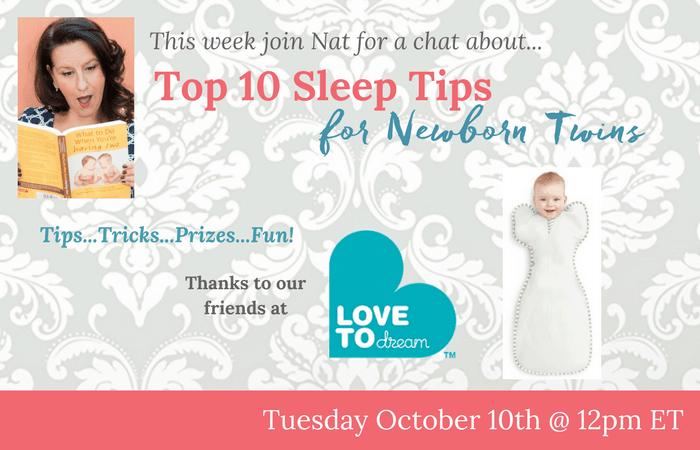 sleep tips for newborn twins
