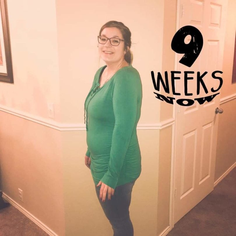 9 weeks pregnant with twins
