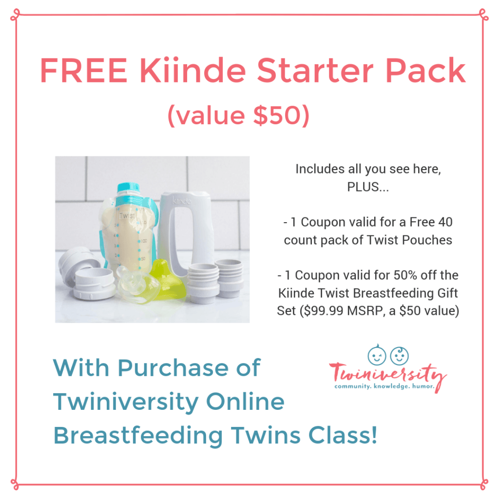 free kiinde starter pack