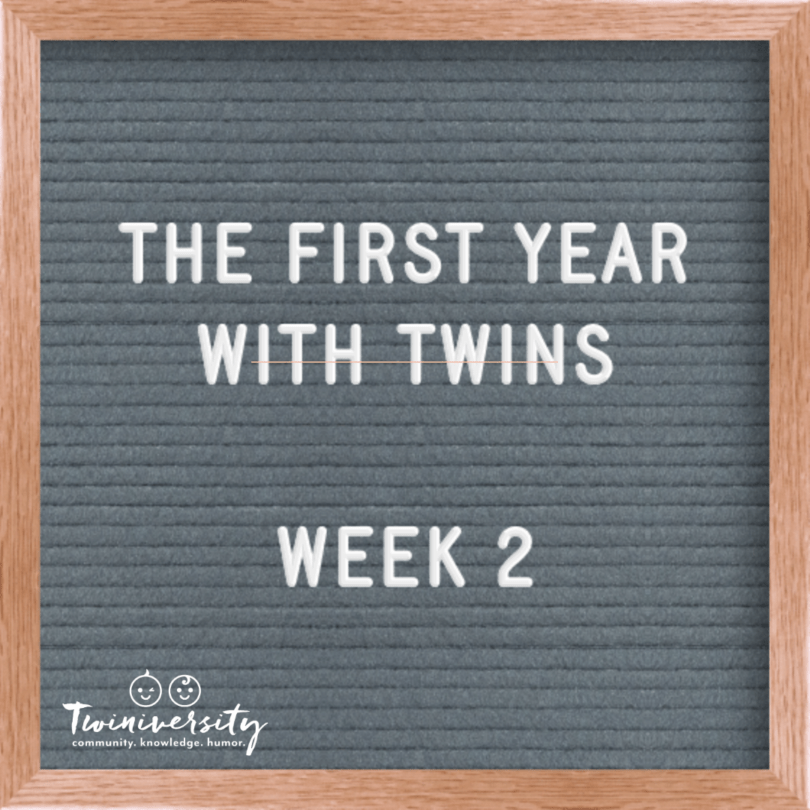 First Week with Twins Week 2