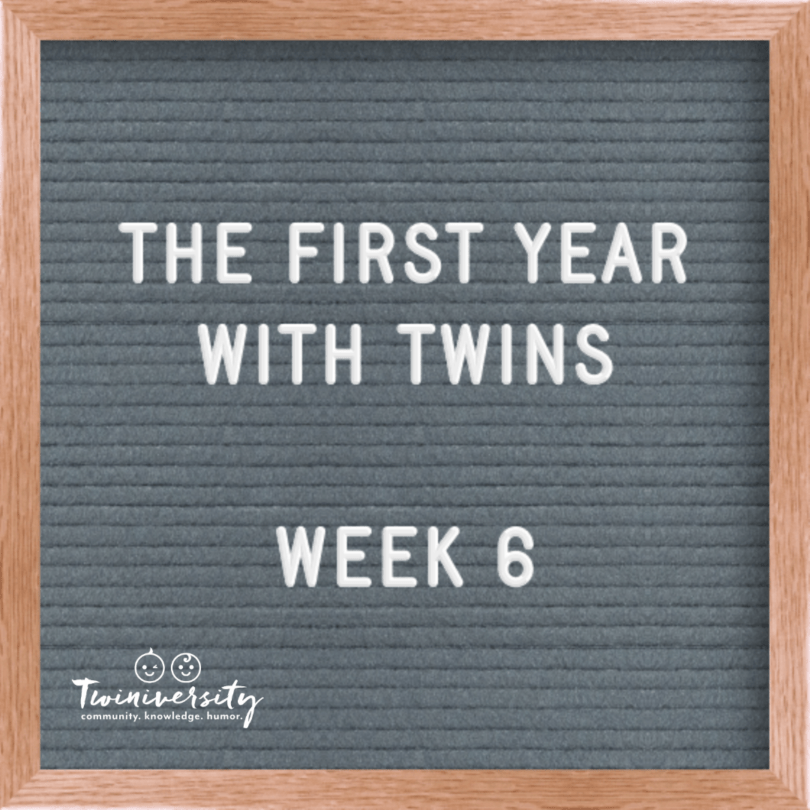 First Year with Twins Week 6