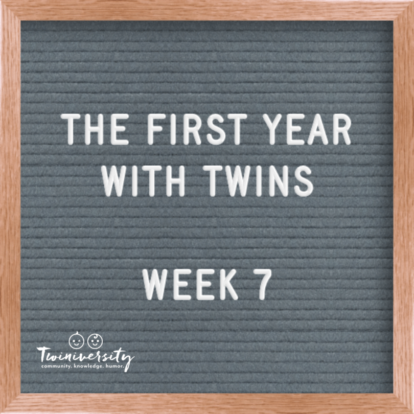 First Year with Twins Week 7