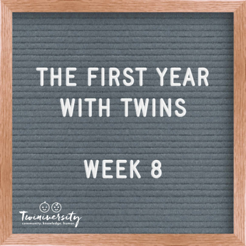 First Year with Twins Week 8