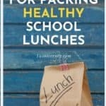 how to pack healthy school lunches