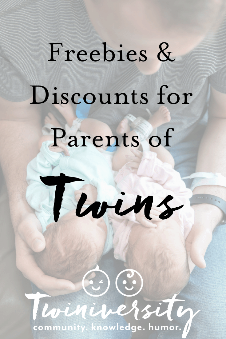 Freebies and Discounts for Parents of Twins