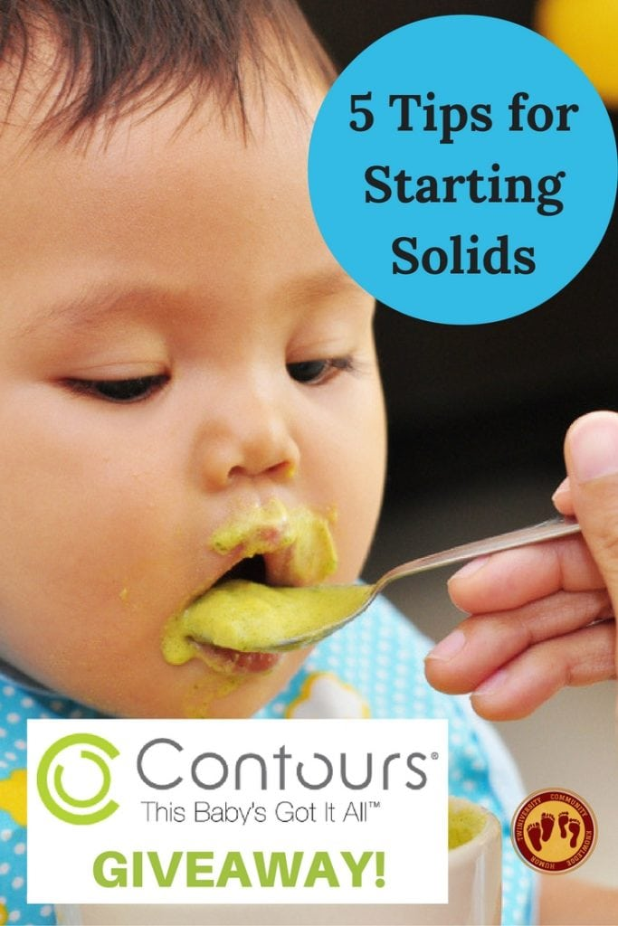 5 Tips for Starting Solids