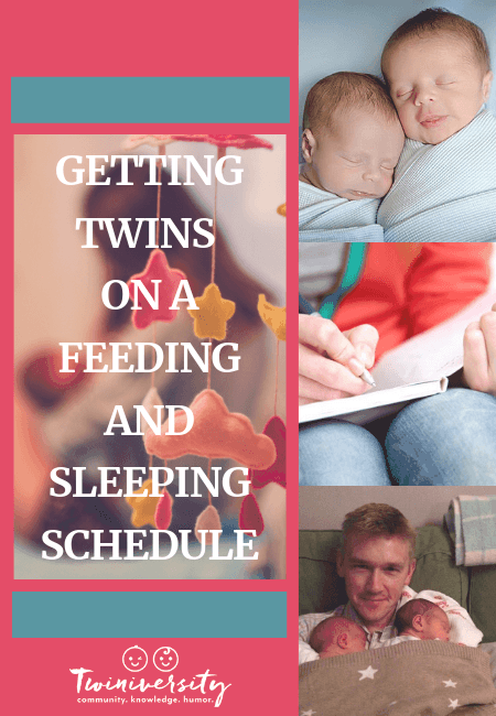 Getting Twins on a Feeding and Sleeping Schedule