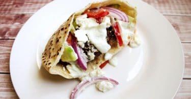 greek gyro burger