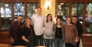 Crystal Duffy and students Houston expecting twins class Twiniversity