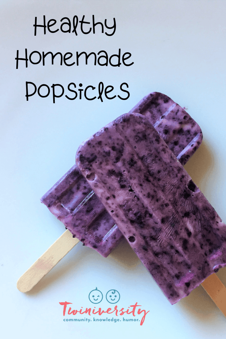 Healthy Homemade Popsicles for Summer Snacking