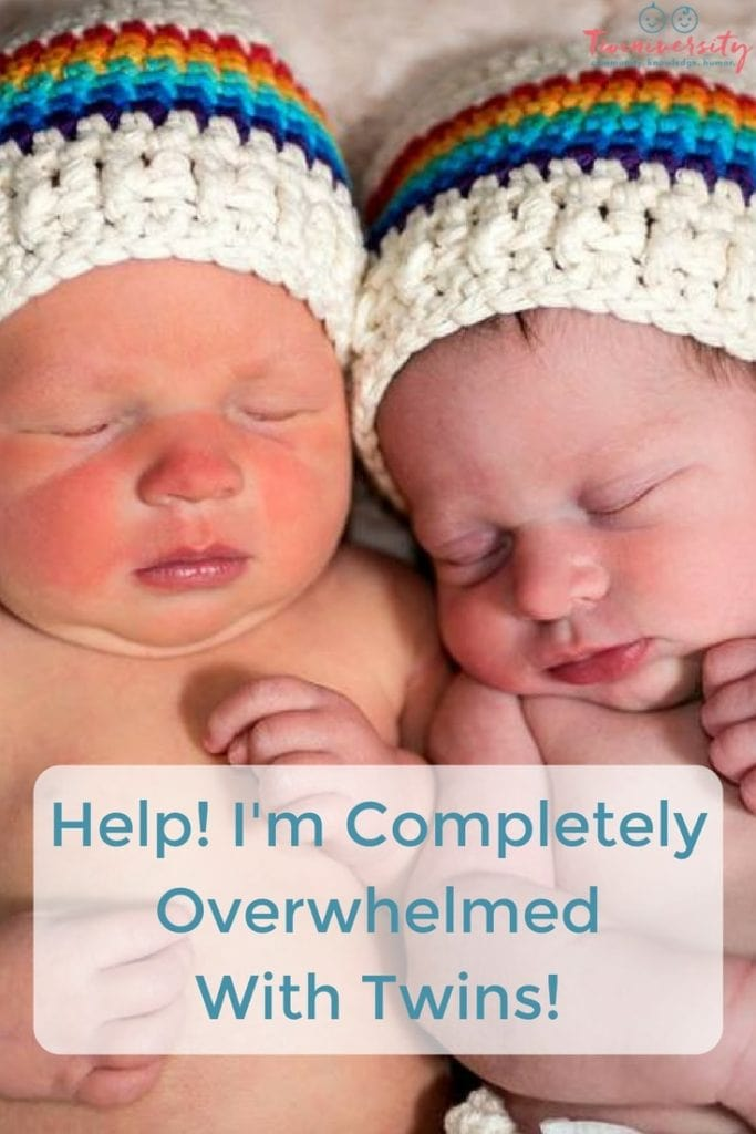 Overwhelmed With Newborn Twins