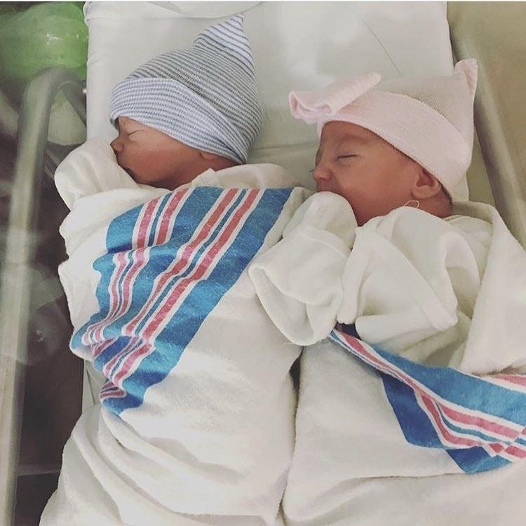 newborn twins Double-Whammy Twin Birth
