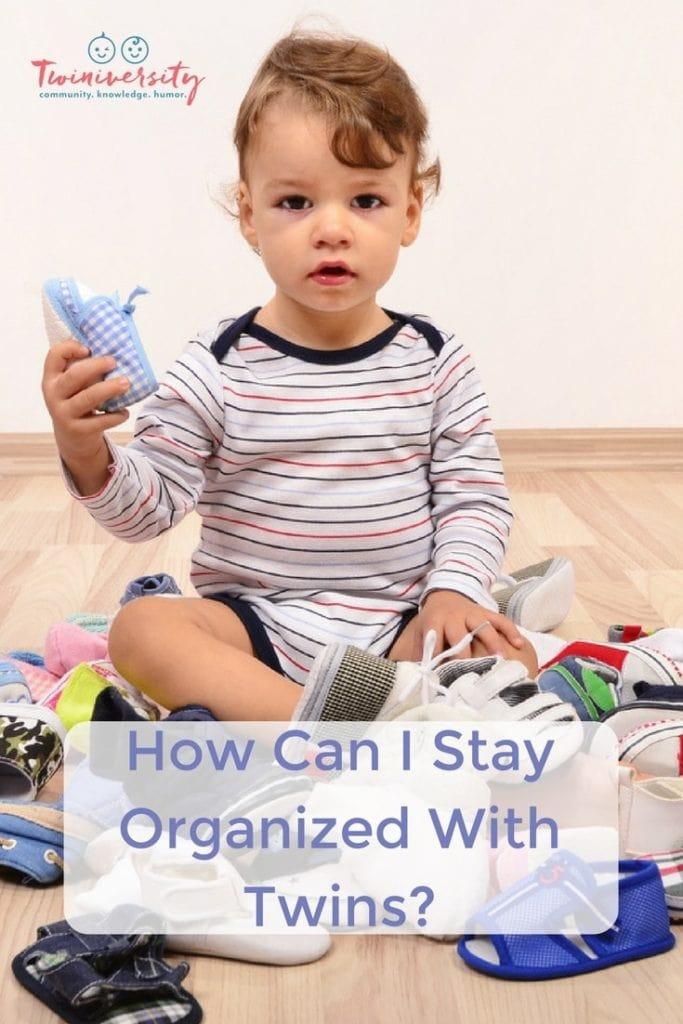 organized with twins