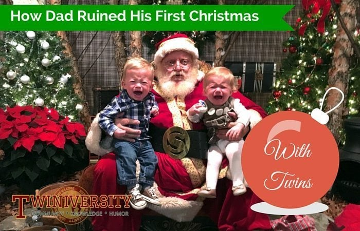our first christmas day with twins was great although i was feeling very rundown but thats what the holidays do to people right - What To Do On Christmas Day
