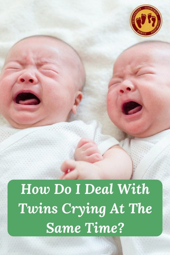 twins crying