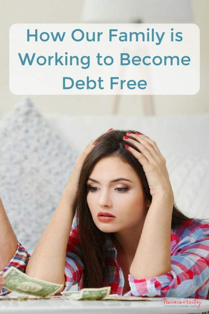 how to become debt free uk
