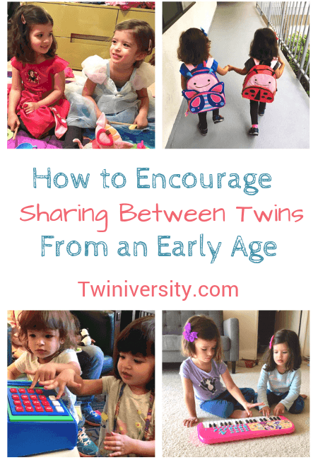 How to Encourage Sharing Between Twins from an Early Age