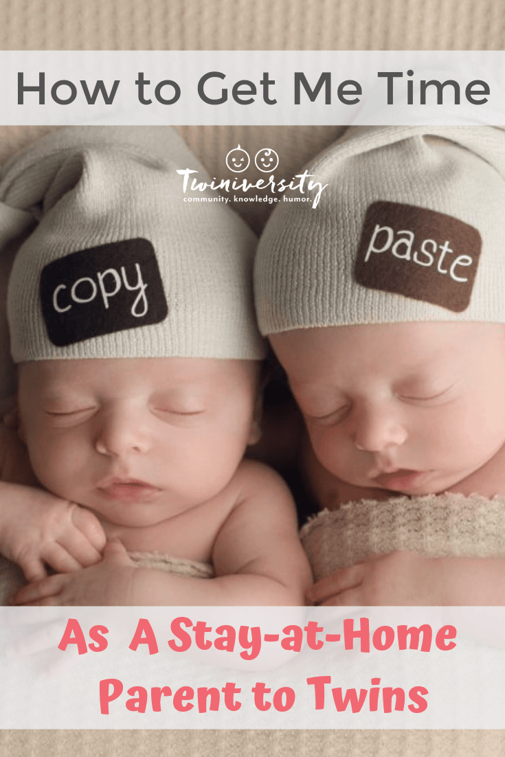 How to Get Me Time as a Stay-At-Home Parent to Twins