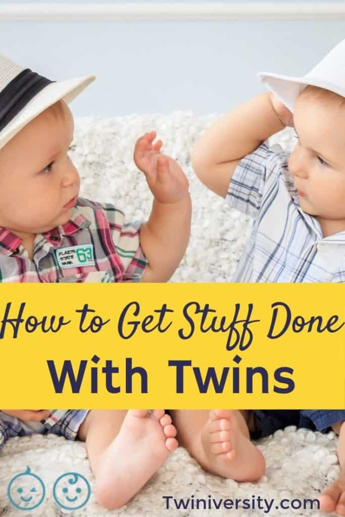 How To Conquer Running Errands With Twins