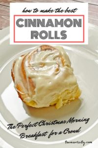 Make-Ahead Cinnamon Rolls with Cream Cheese Frosting Recipe