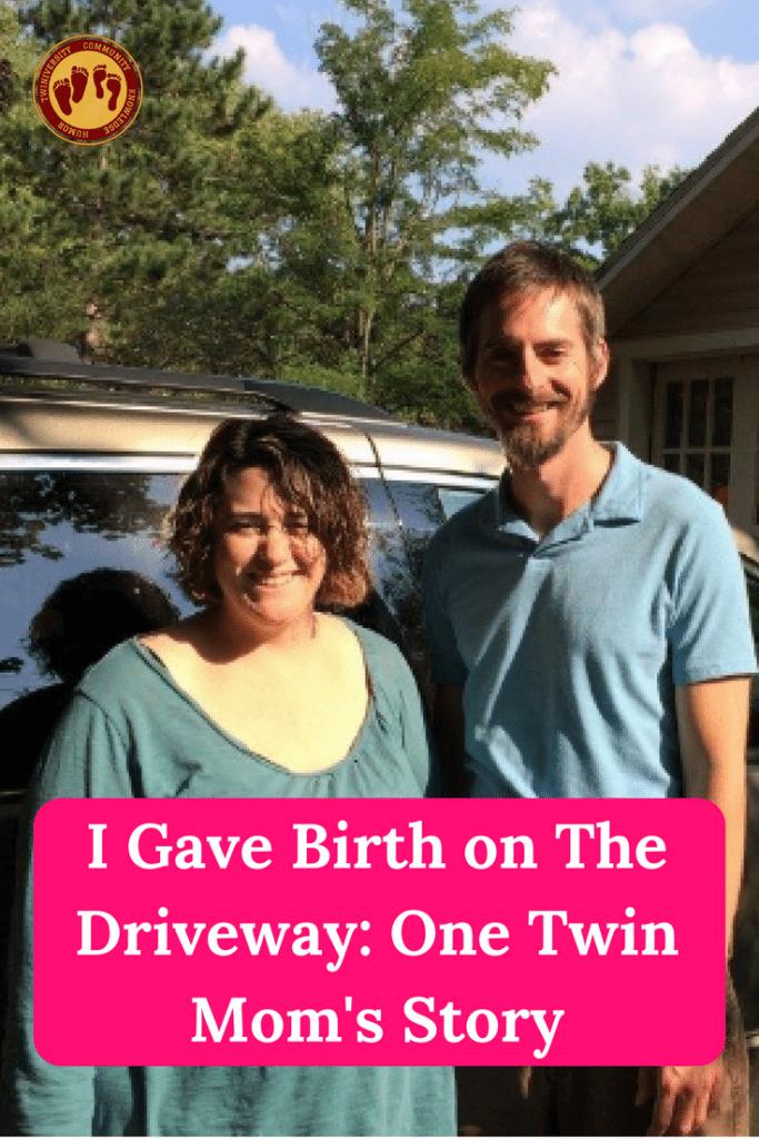 birth on the driveway