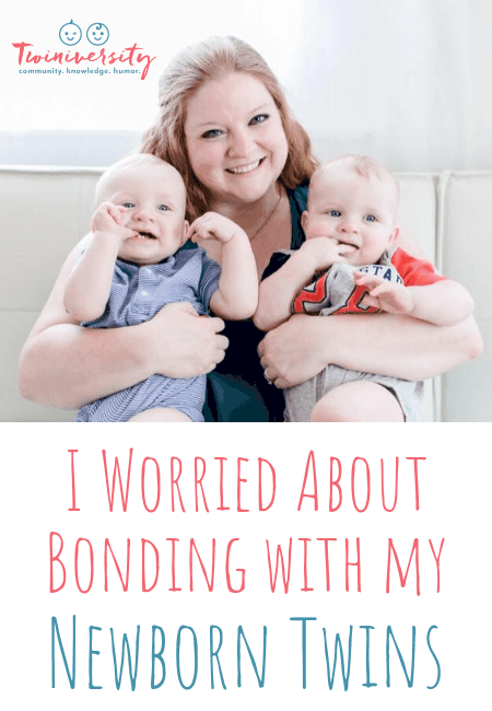 I Worried About Bonding with my Newborn Twins