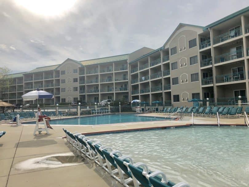outdoor pool lake geneva