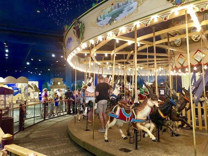 indianapolis children's museum carousel