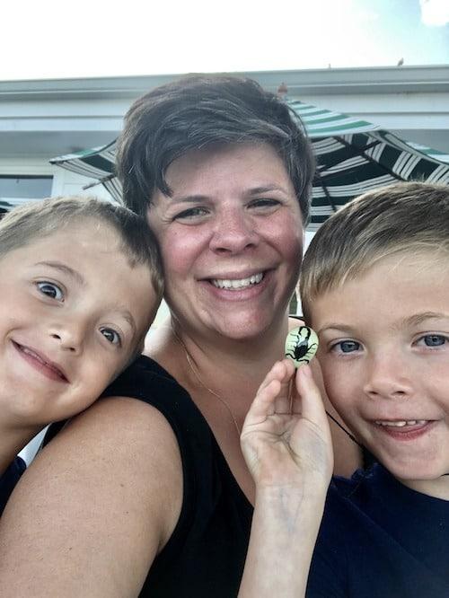 mom and kids mackinac island lodging